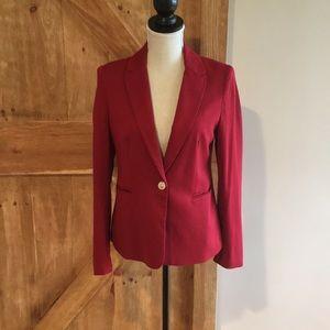 Jackets & Blazers - Red cotton blazer